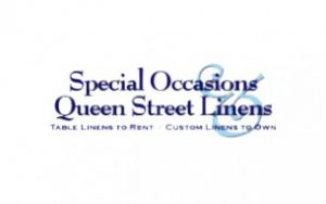 Special Occasions & Queen Street Linens