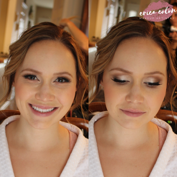 Erica Colon Makeup Transformation 1