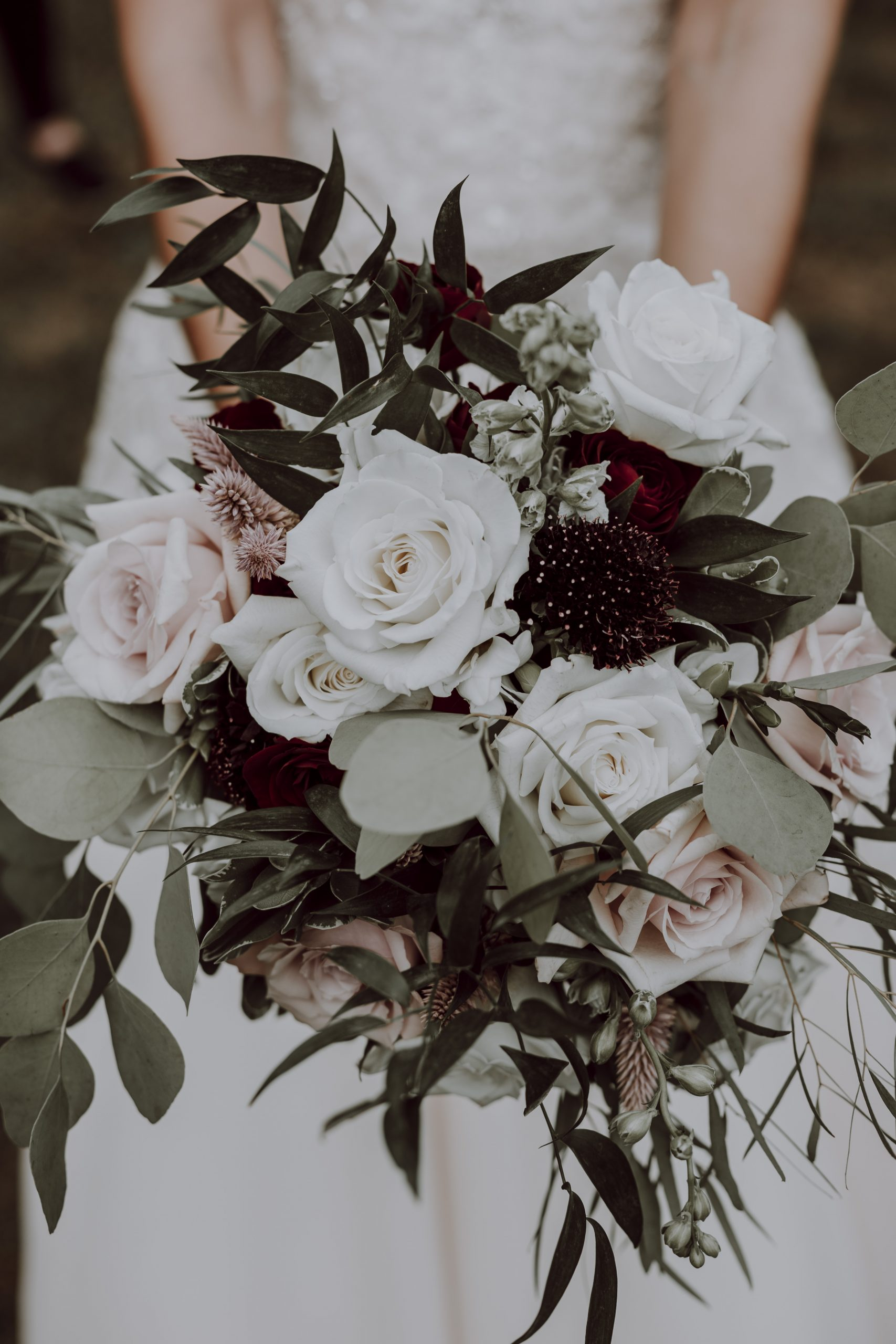 Neutral pastels played a huge part in the decoration of Andrew and Paige's wedding this past Fall. Captured by Lovefusion Photography at Stock's Manor in Mechanicsburg, PA. Featured on Dream Weddings.