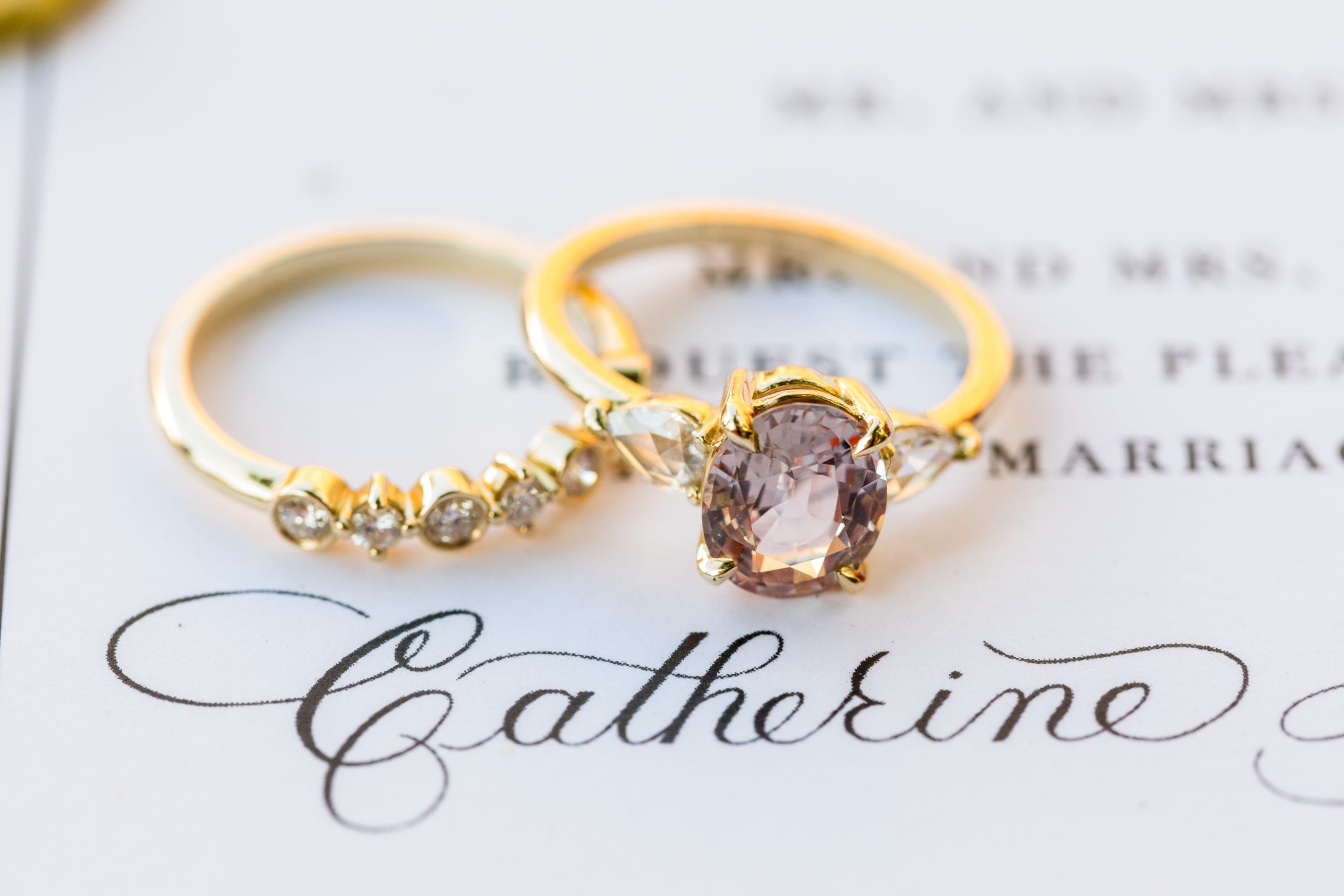 Catherine's ring she is to say I do with at the Michener Museum styled urban contemporary shoot for Ashley Gerrity Photography this past Summer. Featured on Dream Weddings.