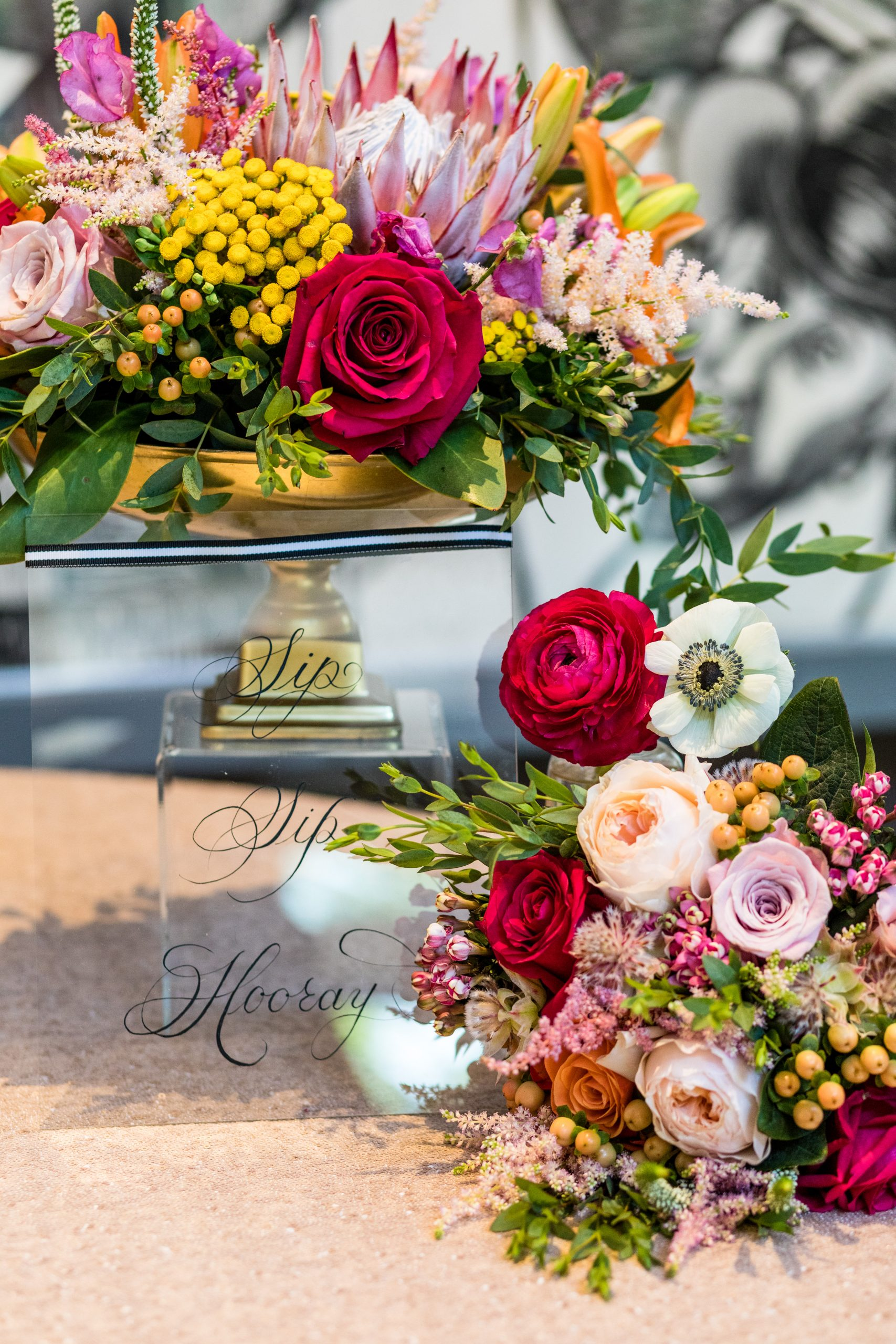 Personal touches add character to the Michener Museum styled urban contemporary shoot for Ashley Gerrity Photography this past Summer. Featured on Dream Weddings.
