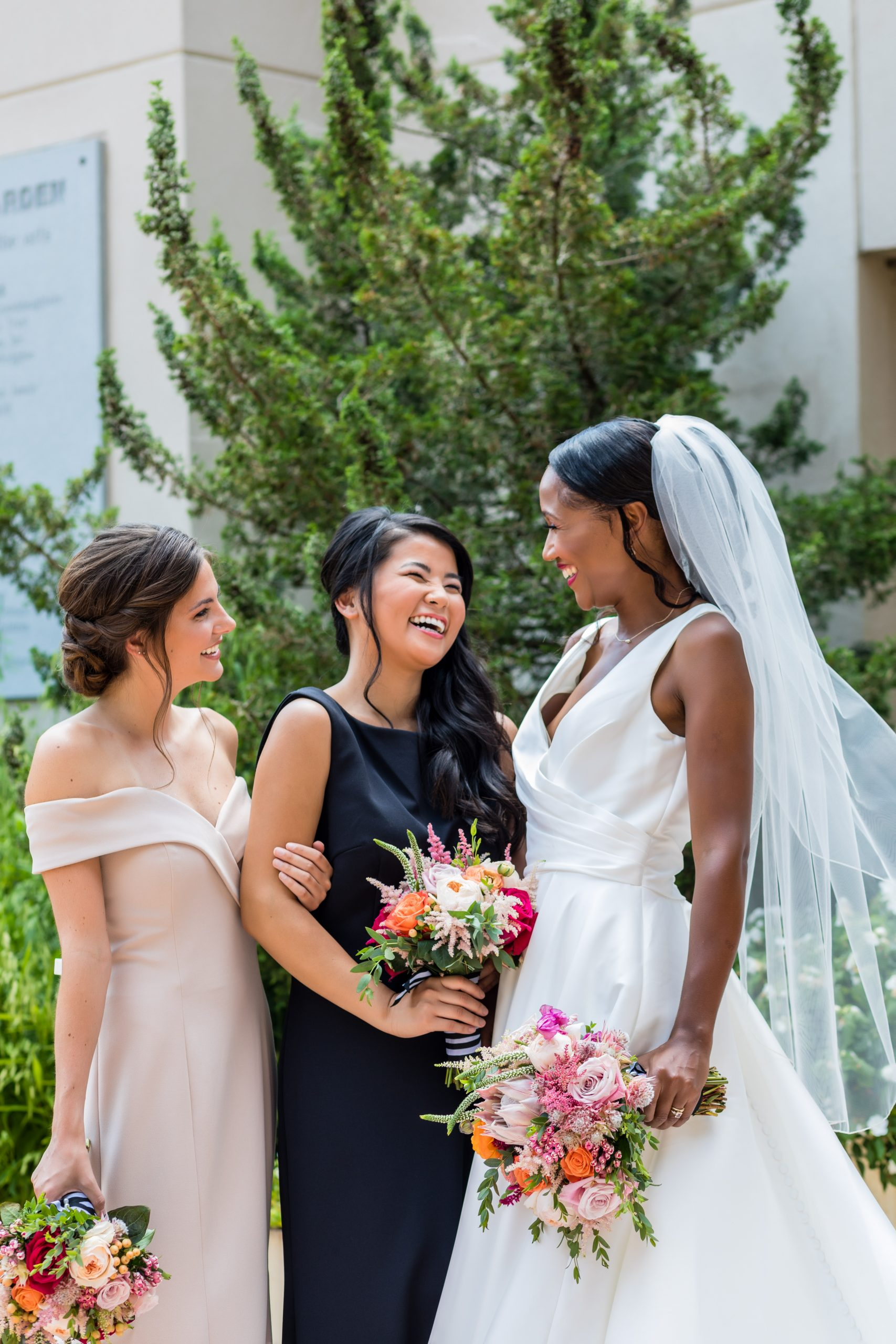 All the girls at the Michener Museum styled urban contemporary shoot for Ashley Gerrity Photography this past Summer. Featured on Dream Weddings.