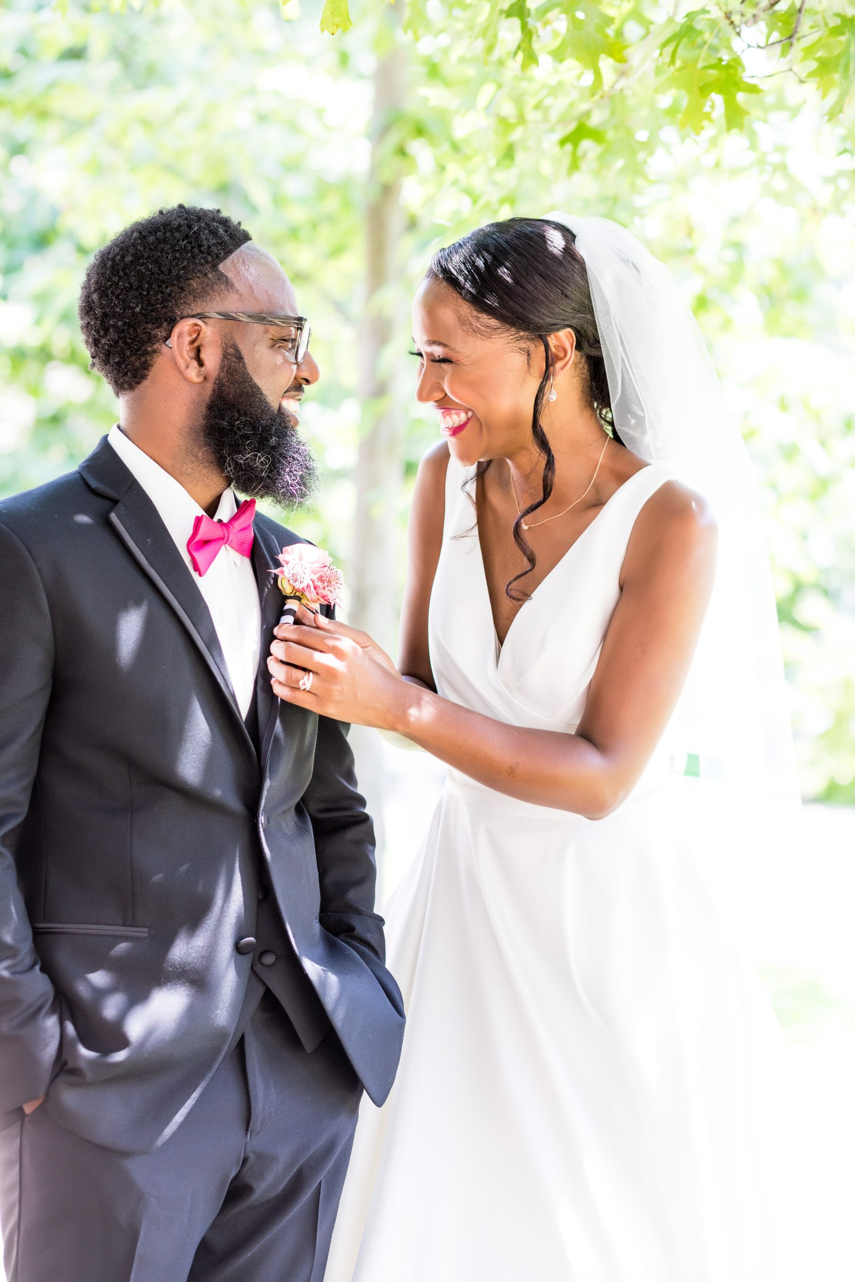 Love and laughter at the Michener Museum styled urban contemporary shoot for Ashley Gerrity Photography this past Summer. Featured on Dream Weddings.