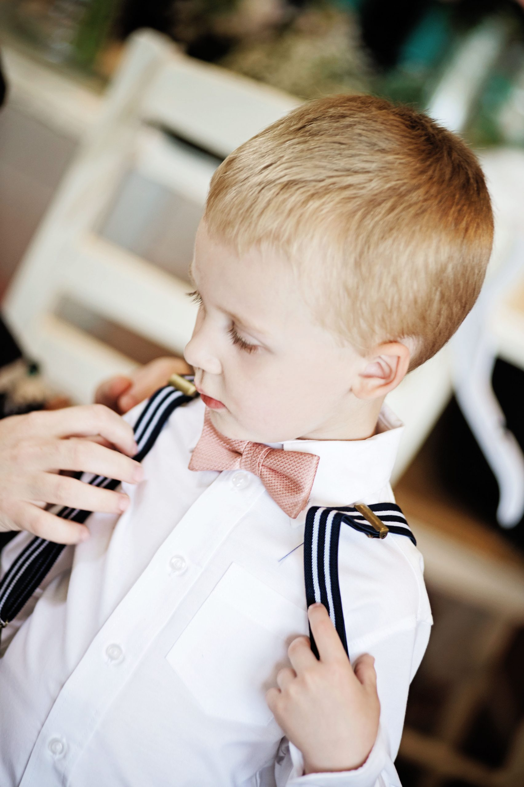 Ring bearer suites up for the isle at Lakeview Farms in York, PA compliments of Lovefusion Photography. Featured in Dream Weddings.