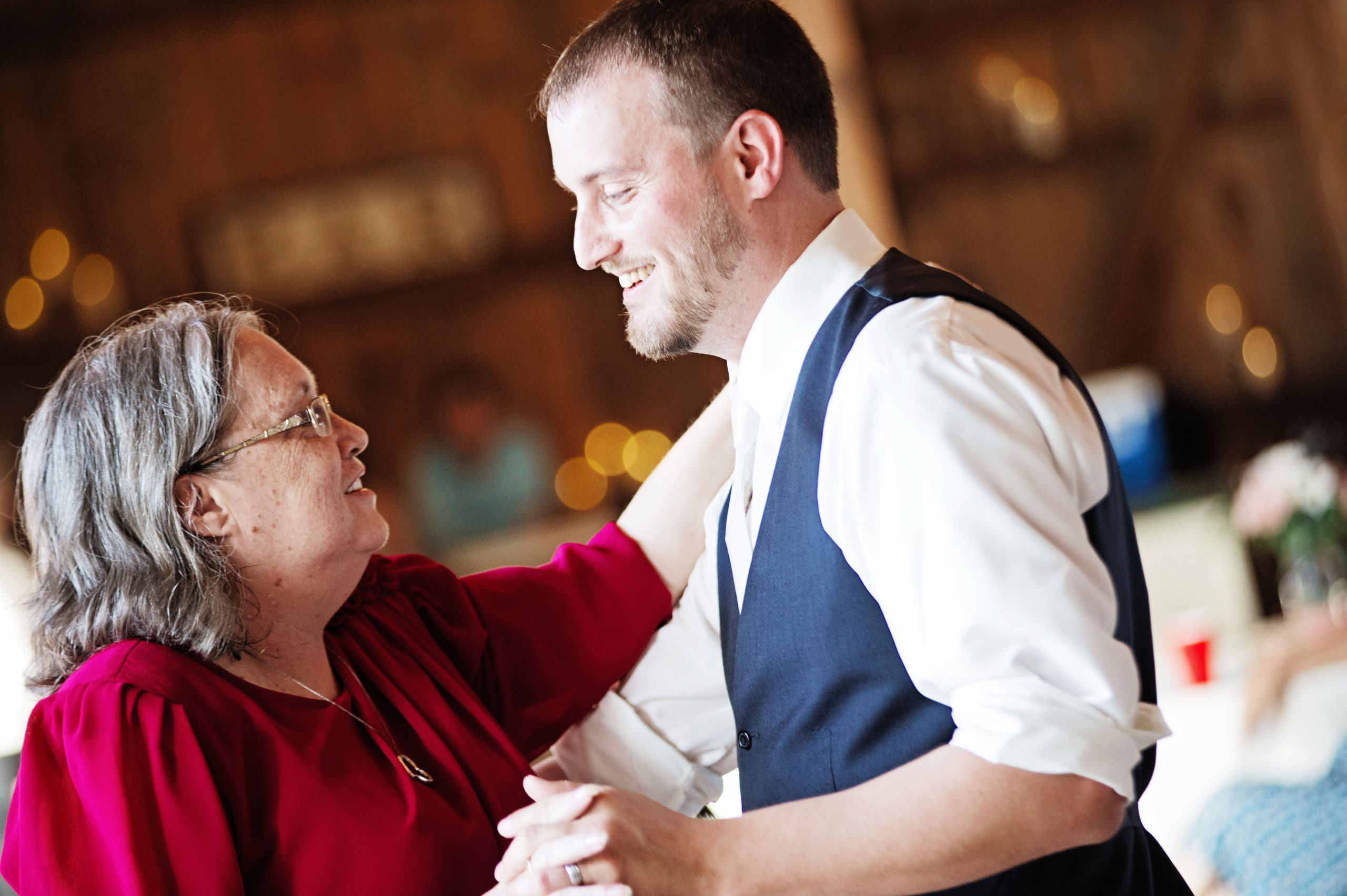 Mother and son dance is shared at Lakeview Farms of York, PA. Lovefusion Photography had the pleasure of capturing this moment. Featured on Dream Weddings.