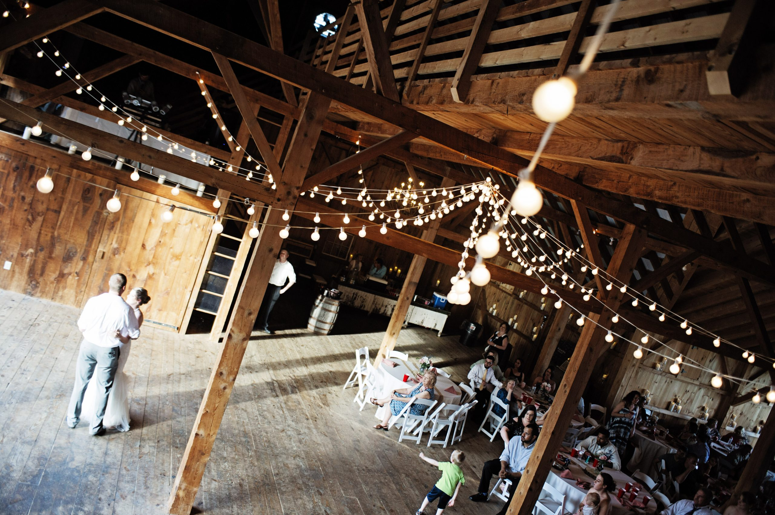 Dance request number one captured by Lovefusion Photography in the rustic barns of Lakeview Farms of York, PA. Featured on Dream Weddings.