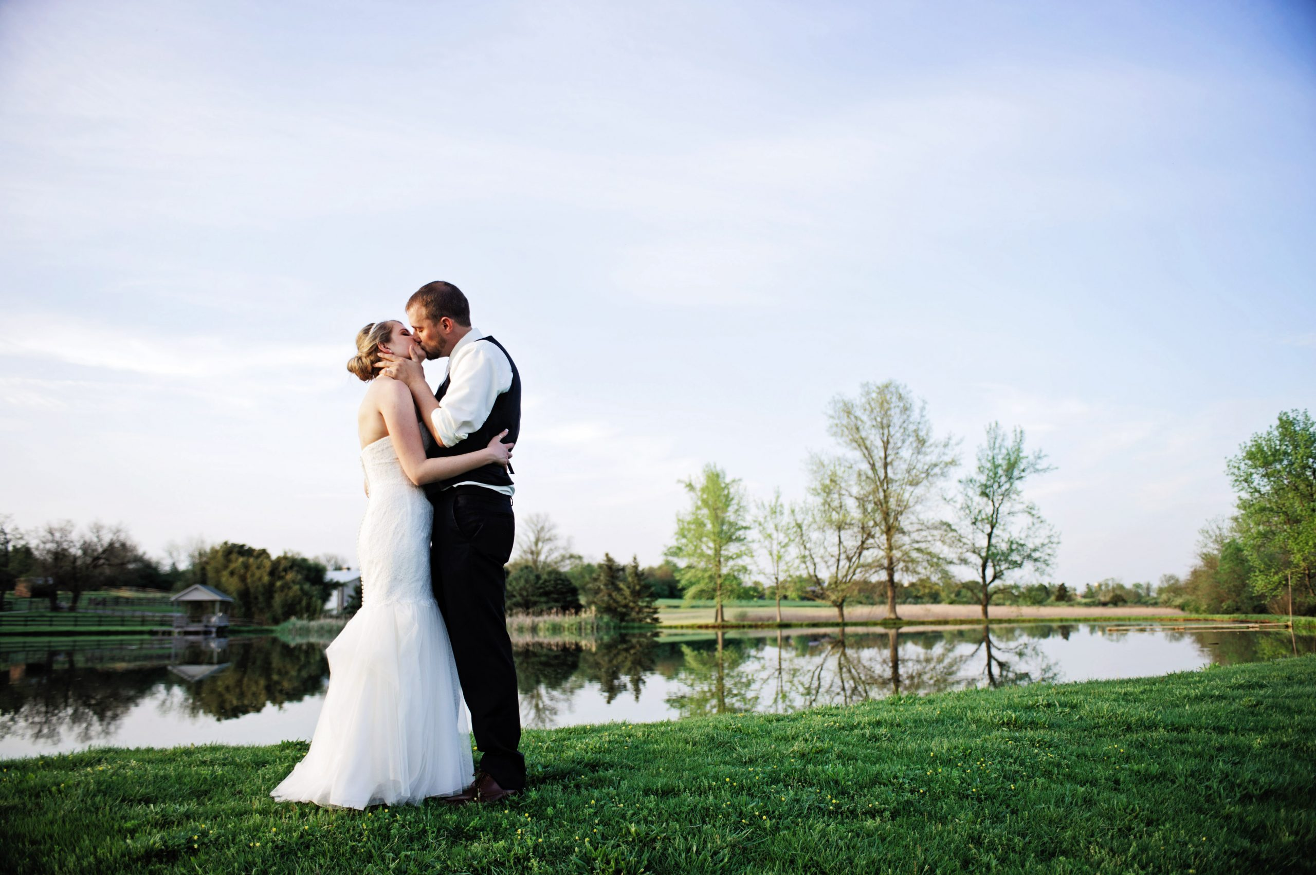 Lakeview Farms of York, PA offered a classic romantic venue for Kady and Ricky this past Spring. Lovefusion had the privilege to photograph such a loving couple. Featured on Dream Weddings.