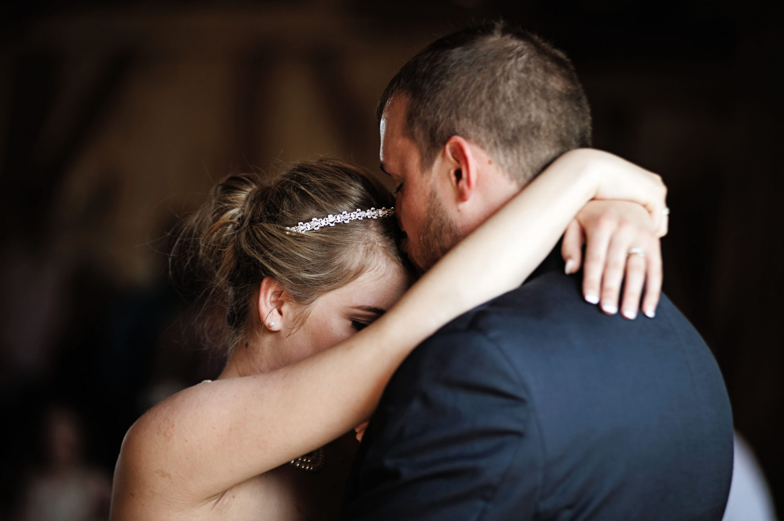 The first dance is a special moment for the newlyweds at Lakeview Farms of York, PA. Photographing this special moment is Lovefusion Photography of Lancaster, PA. Featured on Dream Weddings.