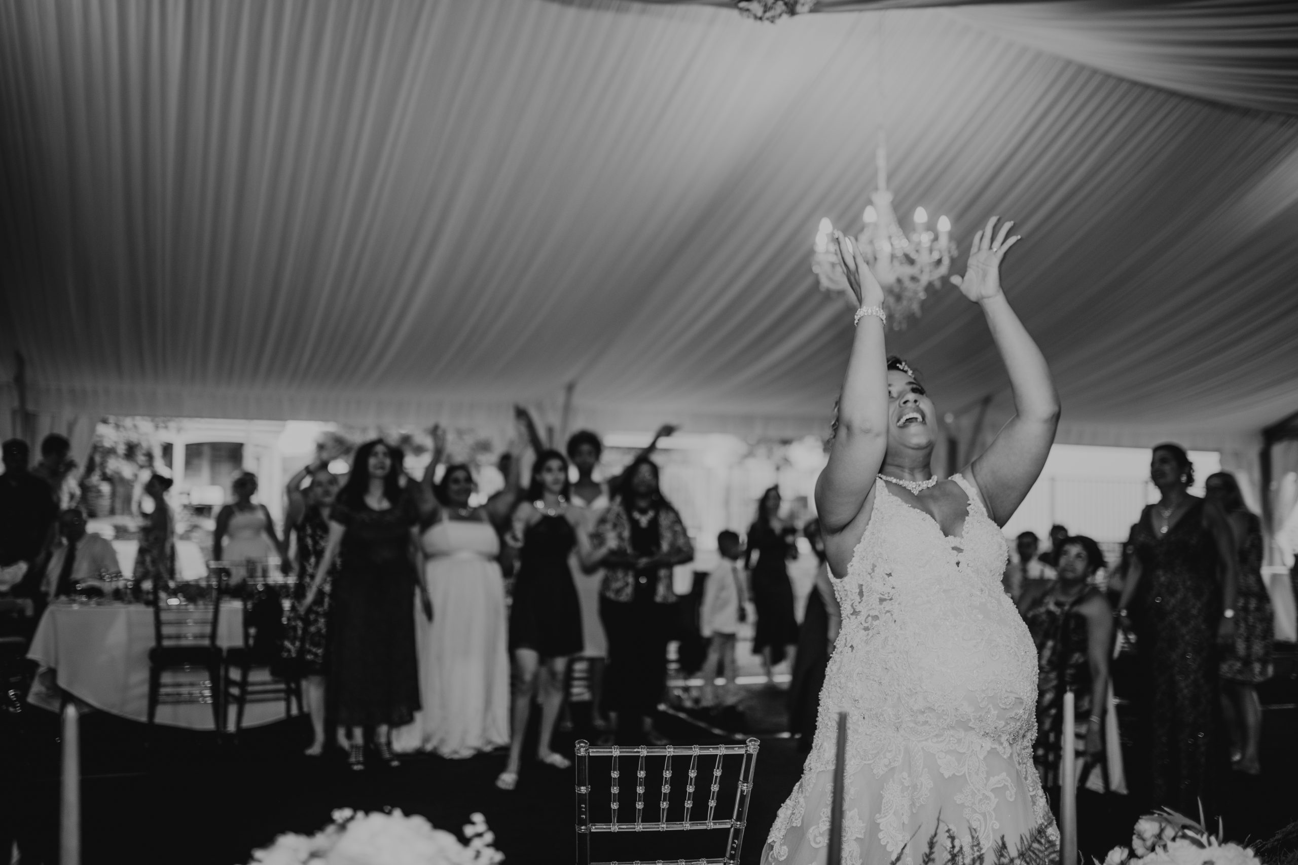 It's all up in the air. Christine and Richard wed on the Chestnut Hill Villa grounds on May of 2019. This organic ethereal styled wedding was captured by Garnet Dahlia Photography and featured on Dream Weddings.