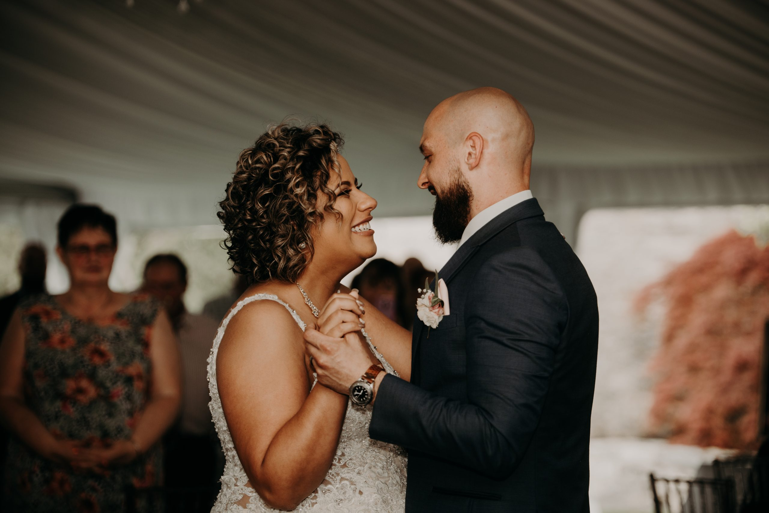 The first dance of the rest of their lives. Christine and Richard wed on the Chestnut Hill Villa grounds on May of 2019. This organic ethereal styled wedding was captured by Garnet Dahlia Photography and featured on Dream Weddings.