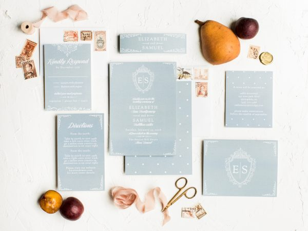 Basic Invites offers a plethora of styles based on your special day. Featured on Dream Weddings