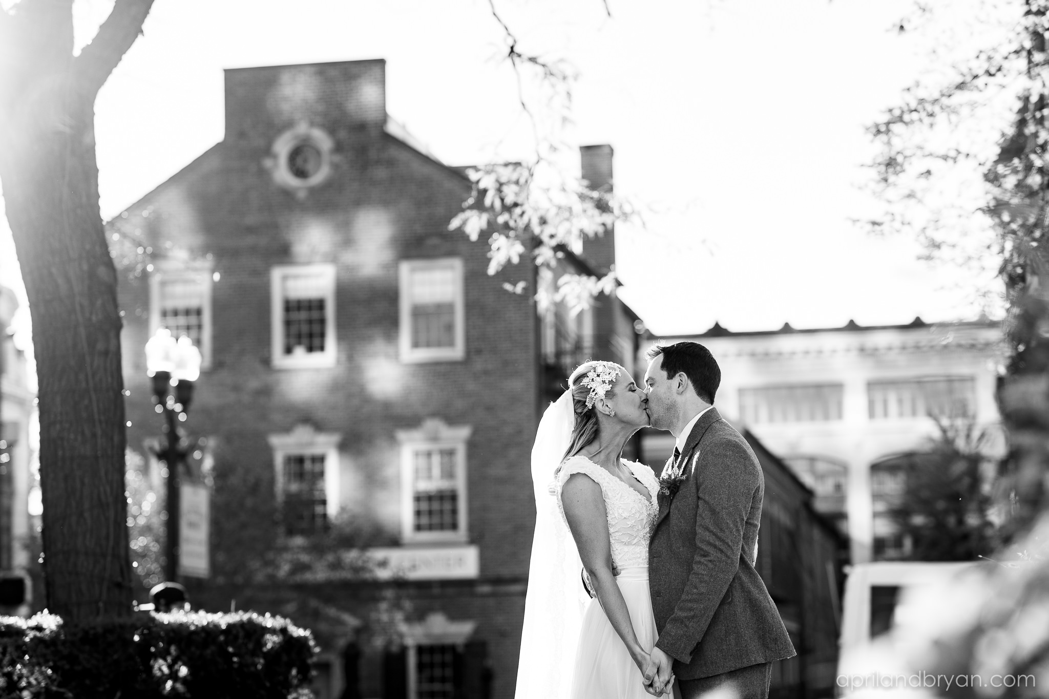 A picture gleaming with classic romantic feel. Nicholas and Rebecca Fasnacht tie the not at Tellus360 on November 1, 2019. Captured by April & Bryan Photography and featured on Dream Weddings.